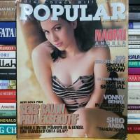 Majalah popular cover naomi angela masih dilengkapi poster