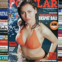 Majalah popular cover olga melendres cruz masih dilengkapi poster