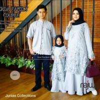 Gamis set couple family WIRDA ORI Najwa