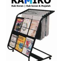 Ready Stock Rak Koran Dan Majalah Kamiko 611