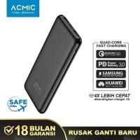 Powerbank ACMIC C10PRO 10000mAh Power Bank PD Qualcomm QC 3.0 Samsung