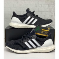 ADIDAS ULTRABOOST CLIMA U BLACK WHITE 100% ORIGINAL ANTI FAKE/KAWE!!!