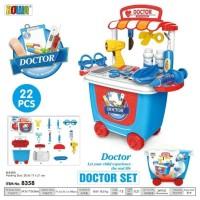 Padangbulan Mainan Anak Gerobak Dokter Set