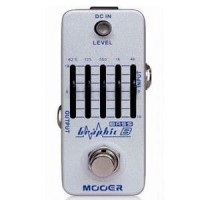 MOOER Graphic B 5-Band BASS Equalizer Pedal Efek Gitar Stompbox