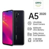 Oppo A5 2020 364gb - Hitam