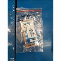 "Simtray Simlock Tempat Simcard Nokia X6 61 Plus Original """