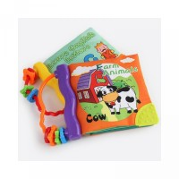 BB Baby Sound Design Device with Pattern Early Books Education Animal