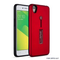 OPPO A37 Neo9 Silicone Ring Stand Luxury Soft Gel Armor Case