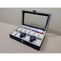 akaz organizer JUMBO Size Tempat Jam Isi 12 Isi 12 / Watch Box