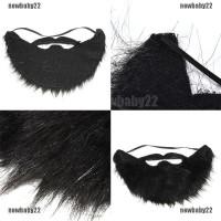 Wig Rambut Palsu Pria Lucu untuk Kostum Pesta Halloween