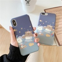 Lovely Little Bear Hard Case OPPO A3S F7 A7 A5S A57 A39 F1S F5 F3