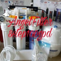 Mesin Filter Air Minum RO 100gpd 8step (Bio Hexagonal)