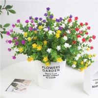 Bunga Imitasi dengan 6 Pilihan Warna untuk Dekorasi Pernikahan