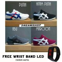 Dream Sepatu Olahraga Pria Running /Jogging DDN + Free Jam Tangan LED