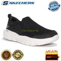 Sepatu Sneaker Slip On Pria Skechers Go Walk Evolution 54738-BKW Black
