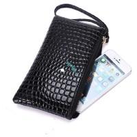 Dompet Kulit Wanita Bintik Import Murah Panjang Mini Kecil Wallet