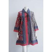 TUNIK KEMALA | DRESS BATIK WANITA BUSUI