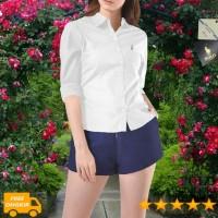 POLO COUNTRY C42-14 Original Kemeja Wanita Panjang Cotton Putih