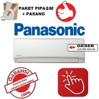 PANASONIC AC 1/2 PK KN5TKJ lowwatt + PASANG + PIPA 5M