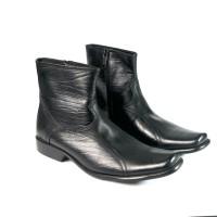 sepatu pantofel boots asli kulit ( tipe : 569 )