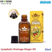 HJFCY Lymphatic Drainage Ginger Essential Oil Plant Therapy