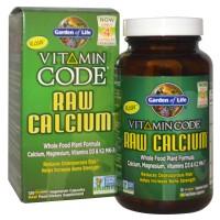 Garden Of Life Vitamin Code Raw Calcium W Magnesium, D3, K2 MK7 60 cap