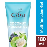 Citra Fresh Glow Multifunction Gel Coconut Bright Uv 180Ml