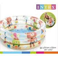 Kolam Renang Anak Bayi INTEX BABY DINO POOL 57106 61cm x 22cm