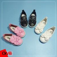 Onvie Sepatu Balet Anak Perempuan Pita Rabbit Lucu| Balet Slip On Pita