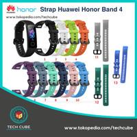 Strap Silicone / Gelang Pengganti / TPU Huawei Honor Band 4 Smartwatch