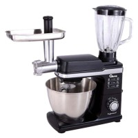 Oxone 3 in 1 Professional Mixer, Meat Grinder, Glass Blender OX-857