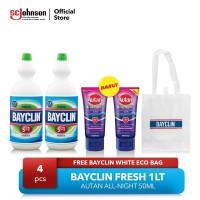 BAYCLIN FRESH 1LT & Autan All Night FREE Bayclin White EcoBag