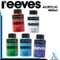 Reeves Acrylic 400ml - BRILLIANT RED