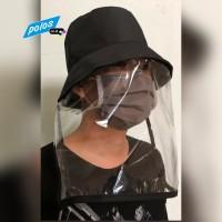 Topi Anti Ciprat Corona / Pelindung Wajah - Model Lepas Siap Kirim