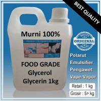Glycerol Glycerin Gliserin VG Vegetable Food Grade