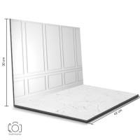 Alas Foto Lipat Dinding Putih & Semen Putih / Background Foto (BL-13)