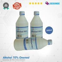 Alcohol 70% Onemed Antiseptik Izin Kemenkes RI Ukuran 300ml ALK-300