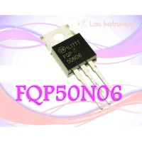 50N06 FQP50N06 Power MOSFET N-Channel, QFET 60V 50A 22 mΩ TO-220