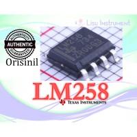 Original LM258DR LM258 Dual Operational Amplifiers SOIC-8 Texas Instru
