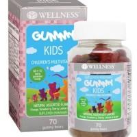 WELLNESS GUMMY KIDS 70 Gummy Bears Multivitamin Anak