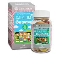 WELLNESS CALCIUM GUMMY Kalsium Anak Isi 70 Gummy Original
