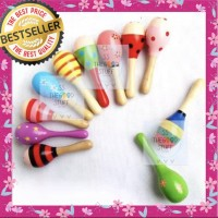 Baby Rattle Stick Mainan Kerincingan Bayi Marakas, Best Seller!