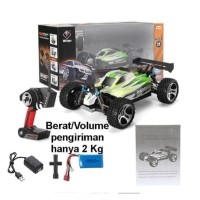 RC Remote Mobil WL A959B A959-B 1/18 4WD Buggy Off Road RC Car 70km/h