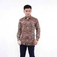 Kemeja Batik Pria Lengan Panjang Motif Ridwan Kamil