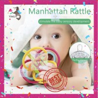 Teether Bola Manhattan Toy Winkel Rattle BPA FREE Best Seller!