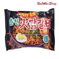 SPICY CHICKEN FRIED NOODLE MIE GORENG AYAM PEDAS 126 GRAM - MIE KOREA
