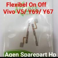 flekible on off volume vivo V5 Y69 Y67