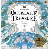 Underwater Treasure Coloring Book Buku Mewarnai Anti Stress Dewasa