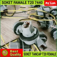 SOKET FITTING T20 WY21W 7440 Single Sein Mundur
