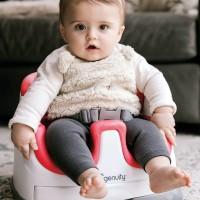 INGENUITY Baby Base KURSI MAKAN BABY 2 IN 1 Seat - RED